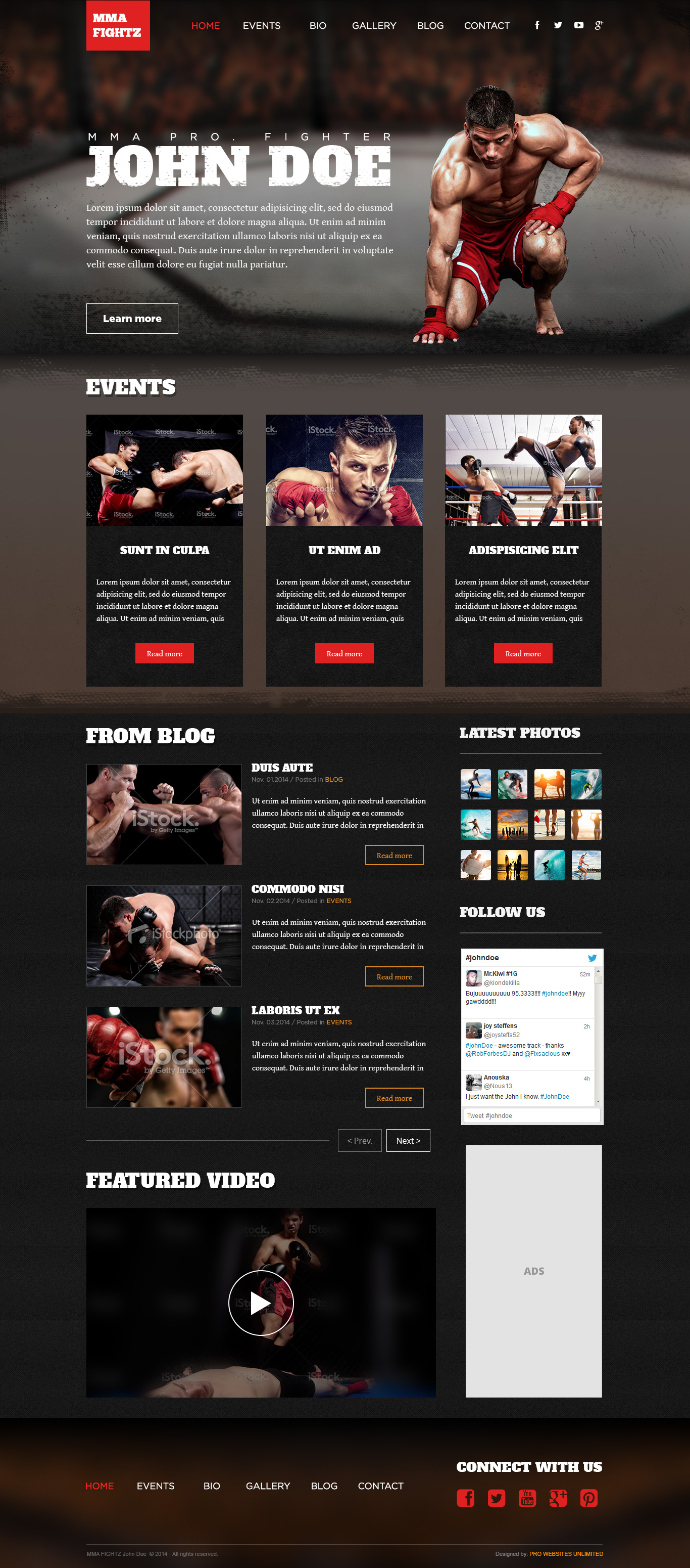 MMA-Ultimate Fighting Theme - A